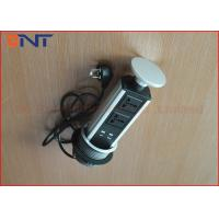 Wholesale IP20 Pneumatic Pop Up Socket Table Hidden For Conference Furniture from china suppliers