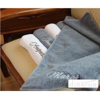 Quality Quick Absorbing Velour Sport Gym Towels 35 * 75cm 100% Cotton Environmentally Friendly for sale