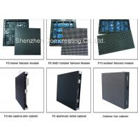 Quality Stage Background Rental HD P4.81 Outdoor Full Color LED Concert Screens LED Die Cast Cabinet Video Display for sale