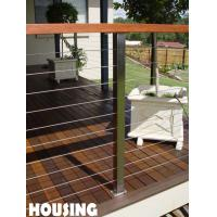 Wholesale Wire Balcony Balustrades For Residential Building / Houses from china suppliers