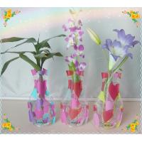 Wholesale Magic Foldable pvc vase , measure 26.5*15*9.5CM from china suppliers