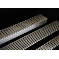 Wholesale Easy Installation Stainless Steel Drain Grate With Flat Surface / Curved Grid Type from china suppliers