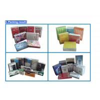 Wholesale Tobacco Transparent film packaging Machinery Solutions , Cellophane Wrapping Machine from china suppliers