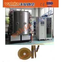 Wholesale Hard PVD Plating Equipment Diamond Steel File TiN Gold Coating Machine from china suppliers