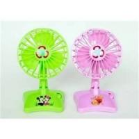 Wholesale 2W Plastic Home Cooling Mini LED Message USB Table Fan with HAVE A GOOD DAY from china suppliers