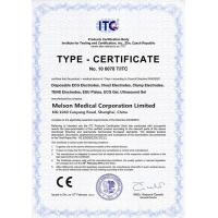 Melson Medical Corporation Limited Certifications