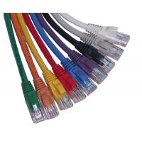 Wholesale B1-G.652 fiber optic Flexible network cat5e patch cables with violet, pink from china suppliers