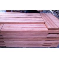 Wholesale Sliced Cut Natural Red Sapele Wood Veneer Flooring Sheet For Furniture from china suppliers