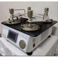 Wholesale 110V Lab Testing Equipment Martindale Abrasion And Pilling Tester  2 , 4 , 6 , 8 Heads from china suppliers
