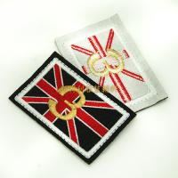 Wholesale Individual Iron On Backing Clothing Embroidered Patches Custom Design Skin Friendly from china suppliers