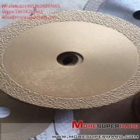 Wholesale vacuum brazed diamond saw blades Alisa@moresuperhard.com from china suppliers