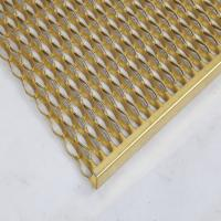 Quality Perf-O Steel step Grating /  6m length solar power roof stair steps gratings for sale