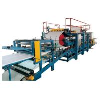 Wholesale EPS Sandwich Production Line , Roof Panel / Wall Panel Roll Forming Machine from china suppliers