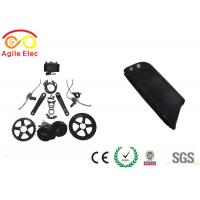 Wholesale 48V Bafang BBS01 Mid Drive Electric Bicycle Motor Kit With Dolphin Type Battery from china suppliers