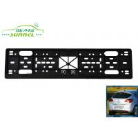 Wholesale Professional Universal Black PP custom european license plates from china suppliers