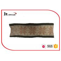 Wholesale Ladies Knitted Snood Scarf Berber Fleece Lining Washable One Size from china suppliers