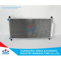 Wholesale Aluminum Honda Accord Condenser / Heat Transfer Condenser thickness 16mm from china suppliers
