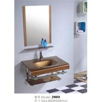 Wholesale glass bathroom cabinet from china suppliers
