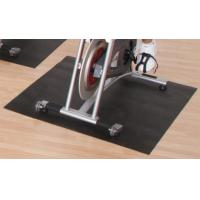 Wholesale Rolling PVC Foam Bike Trainer Mat Custom / Slip Resistant Floor Mats from china suppliers