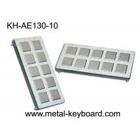 Wholesale IP65 Rated Stainless Steel Keyboard , customisable ss keyboard 10 Super Size Keys from china suppliers