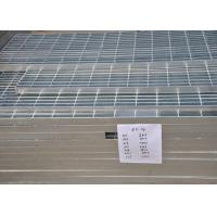 Quality 32 X 5mm Steel Walkway Grating , Flat Hot Dipped Galvanised Steel Grating for sale