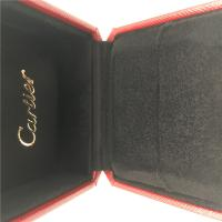 Wholesale Paris Cartier Ring Box High Quality Velvet Jewelry Gift Box Package with Cartier Original Certificate from china suppliers