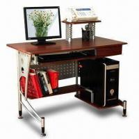 Buy cheap Computer desk, made of MDF with PVC wrapping from wholesalers