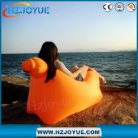 Wholesale factory detect sale hot and New Design OEM Logo Inflatable Sofa, fast inflatable lounge c from china suppliers