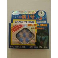 Wholesale Lang yi hao herbal male sex enhancement pill  Wolf No.1 powerful strong sex from china suppliers