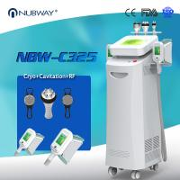 Buy cheap CE ISO FDA approved Hot Sale 5 handles Cryolipolysis Slimming With Cavitation and RF for body slimming weight loss from wholesalers