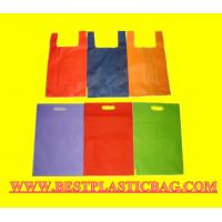 Wholesale Die Cut Custom OEM Printed Sides and Bottom Gusset HDPE PO Punch Patch Plastic Bag from china suppliers