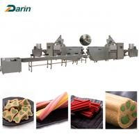 Wholesale 2018 New condition CE dog snacks food extrusion equipment 35-100 KW Power from china suppliers