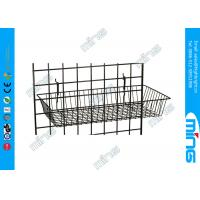"""Wholesale Metal Gridwall Display Racks Basket Accessories 24"""" x 12"""" For Merchandise from china suppliers"""