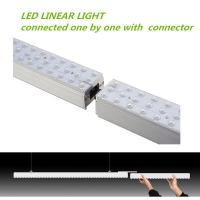 Wholesale UL CE TUV Suspended Pendant Light , Led Linear Suspended Fixture HSE-LR4R-36W from china suppliers