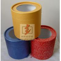 Wholesale Custom Recycled Paper Tube Box Container , Cosmetic Tube Packaging from china suppliers