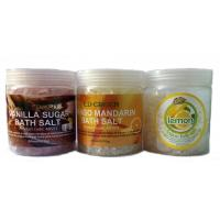 Wholesale OEM Natural Moistening And Relexing SPA Bath Salts / Shower Salt for Women from china suppliers
