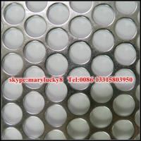 Wholesale mild steel perforated metal/SS Perforated metal from china suppliers