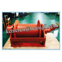 Quality factory directly offered high speed hydraulic winch with pull force 1-100 ton for sale