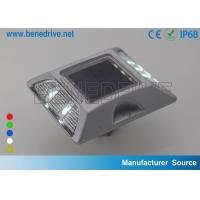 Wholesale Brightest Solar Road Stud Reflector , 20T Resistance Aluminium Road Marker Lighting from china suppliers
