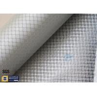 Wholesale Silver Coated Fabric Aluminized Fiberglass Cloth 0.2MM 260℃ Decoration from china suppliers