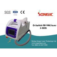 Wholesale Portable Q Switch Tattoo Removal Machine , Skin rejuvenation Device from china suppliers