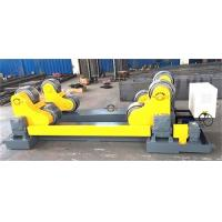 Quality 20 Ton Self Aligned Welding Rotator Roller Bed With PU Wheels for 6000mm diameter tank for sale