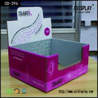 Wholesale Special Box Shape Cardboard Counter Display For Jewellery With Lid from china suppliers