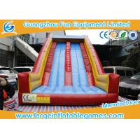 Wholesale Extreme Adventure Inflatable Climbing Wall For Theme Park 8*4*6m from china suppliers