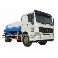 Wholesale SINOTRUK 4*2 290hp water sprayer truck with HW19710 transmission 300L fuel tank from china suppliers