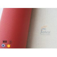 Wholesale 700gsm 0.8mm Silicone Coated Fiberglass High Silica Cloth For Fire Blanket from china suppliers