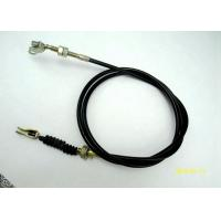 Wholesale 5.0mm Galvanized Motorcycle Brake Cable With Threaded Rod / U Shape Fitting from china suppliers