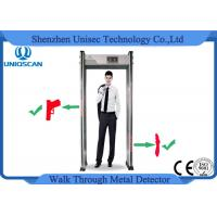 Wholesale 10 Level Alarm Volume Walk Through Safety Gate , Airport Metal Detectors With 33/36 Zones from china suppliers