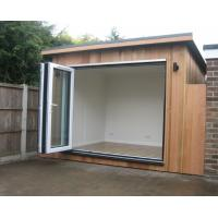 Wholesale Waterproof Prefabricated Garden Studio / Garden Storage Room Original Wood Color from china suppliers