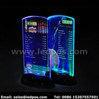 Wholesale Battery Powered LED Menu Card Sign Holder from china suppliers